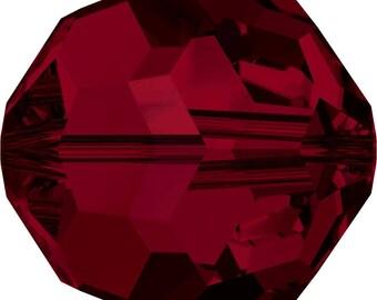 Swarovski Crystal Round Beads 5000 - 2mm 3mm 4mm 5mm 6mm 7mm 8mm 10mm - Siam