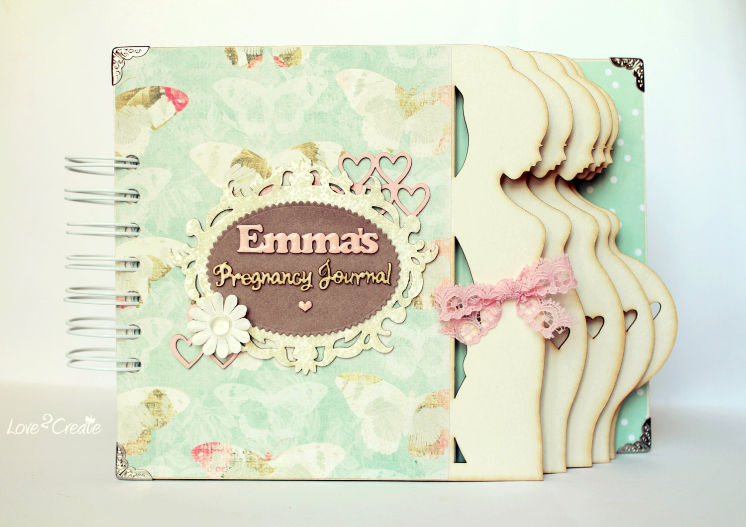 Baby journal scrapbook ideas - Personalized Pregnancy Journal Pregnancy Diary Week By Week Pregnancy Album Mom To Be Journal Expecting Baby Diary Maternity Gift