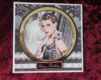 Art Deco Card