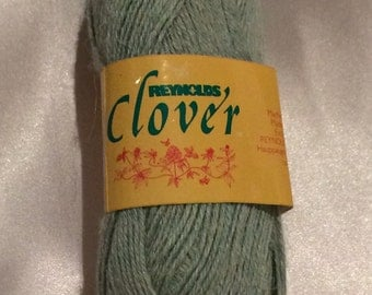 Reynolds Clover Yarn Made in Belgium - Mint Green