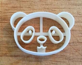 Panda cookie and fondant cutters