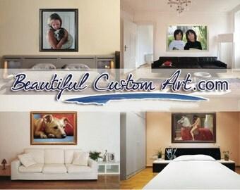 "24"" x 36"" Custom Painting"