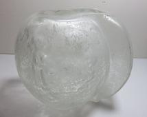 Signed Seguso Vintage, Mid-Century Modern Glass Vase, Artist Signed As Well