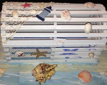 Beach themed card box