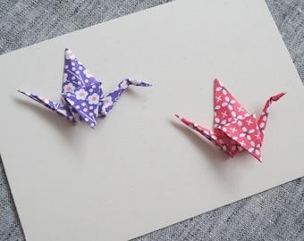 Origami Cranes Postcard