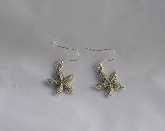 starfish dangler earrings-starfish jewelry-starfish earrings