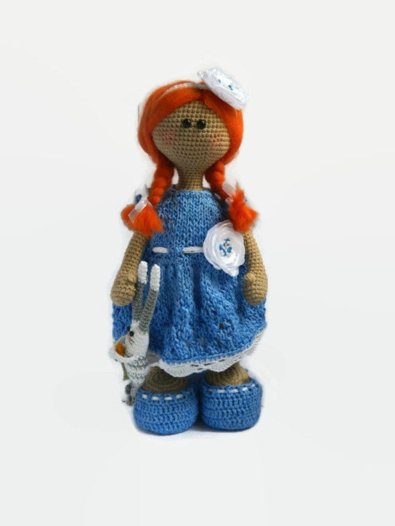 Amigurumi Doll House : Amigurumi doll Nursery doll Plush doll Crochet by UAmadeForYou