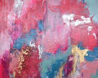 Pretty Pastels Abstract Painting