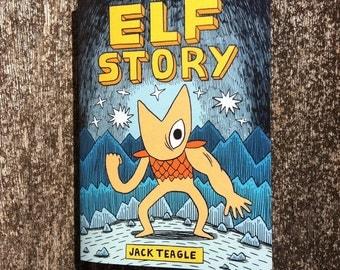 Elf Story Comic
