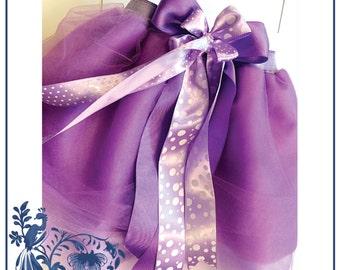 Purple Princess Tutu - kids girl cute chic ballerina