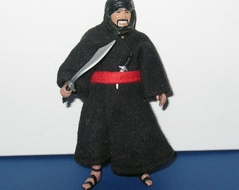 Vintage 1982 Kenner Indiana Jones Raiders of the Lost Ark Cairo Swordsman - Complete w cardback