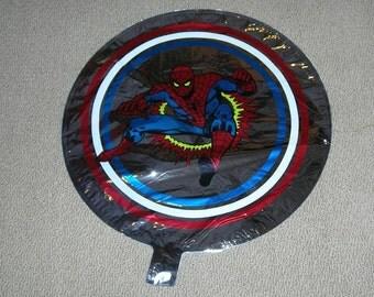 Vintage 1980s Marvel Spiderman Early Mylar Balloon