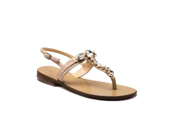 Portofino - Handcrafted Leather Sandal,Slipper and Flip flop