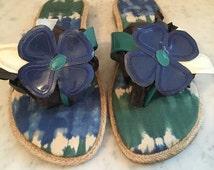 Vintage ladies Impo flip flop/size 8