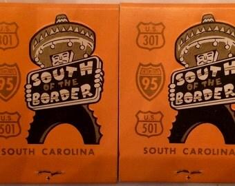 Pedro's South of the Border South Carolina Vintage Matchbooks