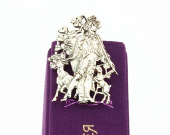 Silver Bookmark Shepherd