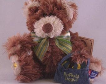 Boyd's Daffodil American Cancer Society Bear.