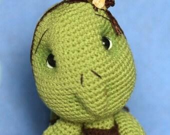 Elfin Thread - Turtle Crochet Amigurumi Pattern ( Turtle crochet PDF Pattern)