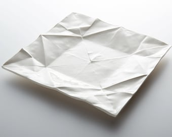 origami plate