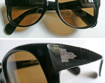 "Rare vintage sunglasses for collector ""Meflecto 6531 (Persol)"" made in 60ies"