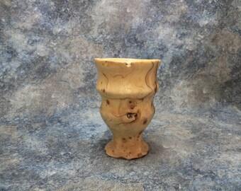 Wooden Vessel | Wood Vase | Turned Wood | Juniper Wood Vase | Juniper Vase