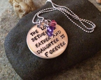 From dad to daughter, for daughter from dad, jewelry for daughter, daughter jewelry,  necklace for daughter, daughter, gift for daughter