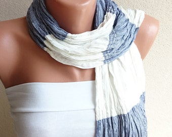 SALE!! Cotton Wrinkled Scarf, Woman Accessories, Cotton Shawl, Gift For Her, Lightweight Scarf, Bohemian Scarf