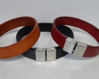 Leather Bangles for Ladies