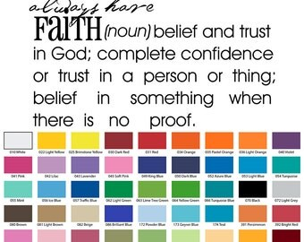 Faith Belief And Trust In God; Complete Confidence Or Trust Wall Quote