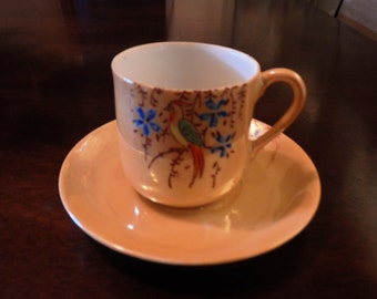 Japanese Lusterware Demitasse