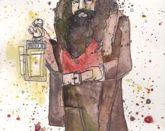 Rubeus Hagrid PRINT