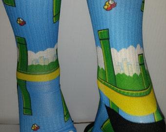 Custom Flappy Birds Socks