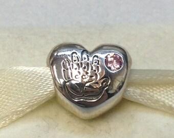 Authentic Pandora Silver Baby Girl Charm #791280PCZ