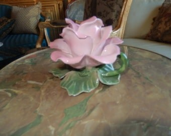 ITALY ROSE CANDLE Holder
