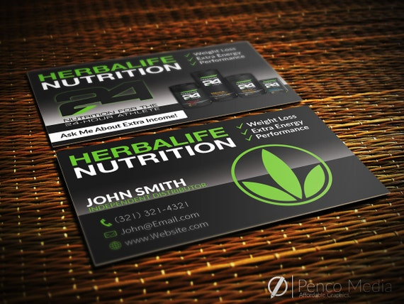 herbalife business card design herbalife nutrition by pencomedia. Black Bedroom Furniture Sets. Home Design Ideas