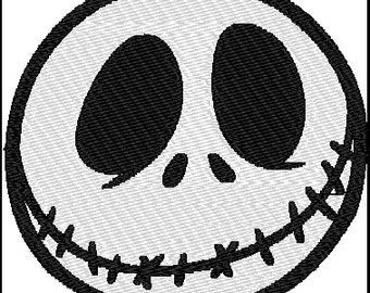 Jack Skellington Embroidery Design