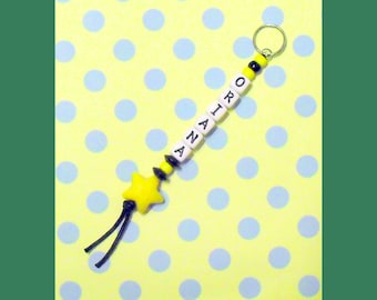 Personalized Name Beaded Key Chain (Oriana Style)