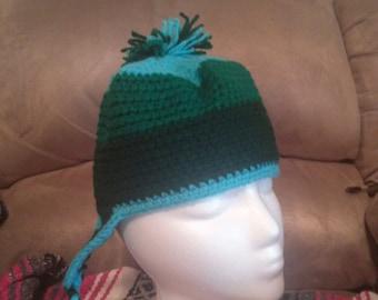 3 Color Ear Flap Hat