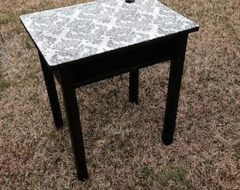 Antique Student Desk: REFINISHED