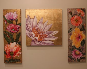 Flowers #3 (Sold as a set)