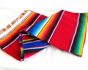 Mexican Sarape in red color
