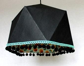Retro Geometric origami Ceiling Lamp
