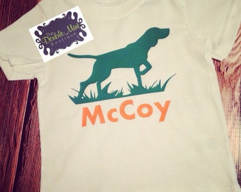 Pointer Dog Tshirt