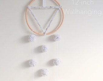 Pom-Pom 12-inch Wallhanging