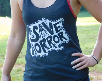 Save Horror Island Womens Tank Top