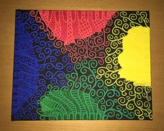 Primary Colours - Original Artwork