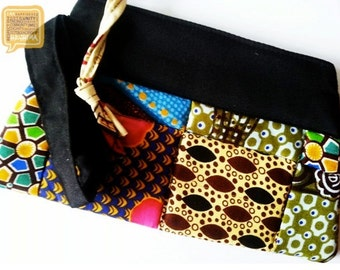 Quilted Clutch/Wristlet