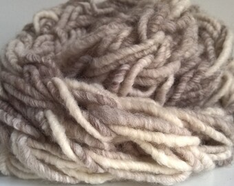 Arm Knitted Wool/Acrylic Blend Infinity Scarf