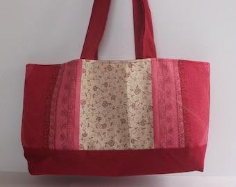 Red cloth bag