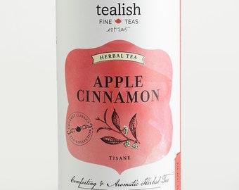 Apple Cinnamon - Gourmet Herbal Tea - Tin